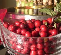 Chutney z żurawinami, morelami i jabłkami