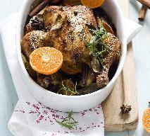 Kurczak korzenny z mandarynkami - przepis na święta