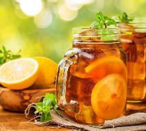 Mrożona herbata - przepis na cytrynową ice tea