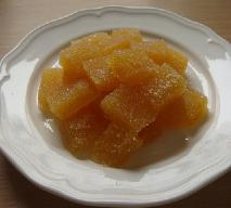 Pomarańcziowe galaretki w cukrze