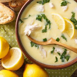 Zupa cytrynowa z karpia i warzyw