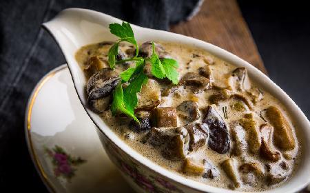 Sos grzybowy, myśliwski do makaronów, kasz, klusek i ziemniaków