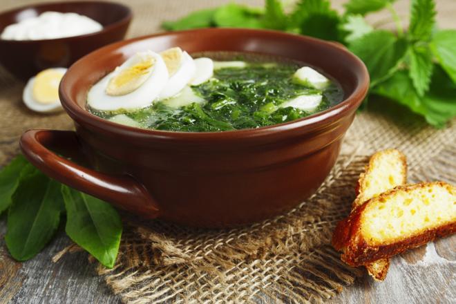 Zupa szczawiowa -przepis Ewy Wachowicz - spróbuj jej z nami!