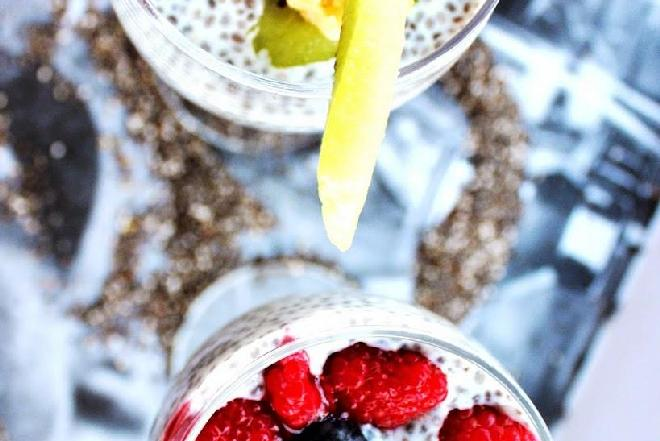 Chia pudding - przepis FIT LOVERS