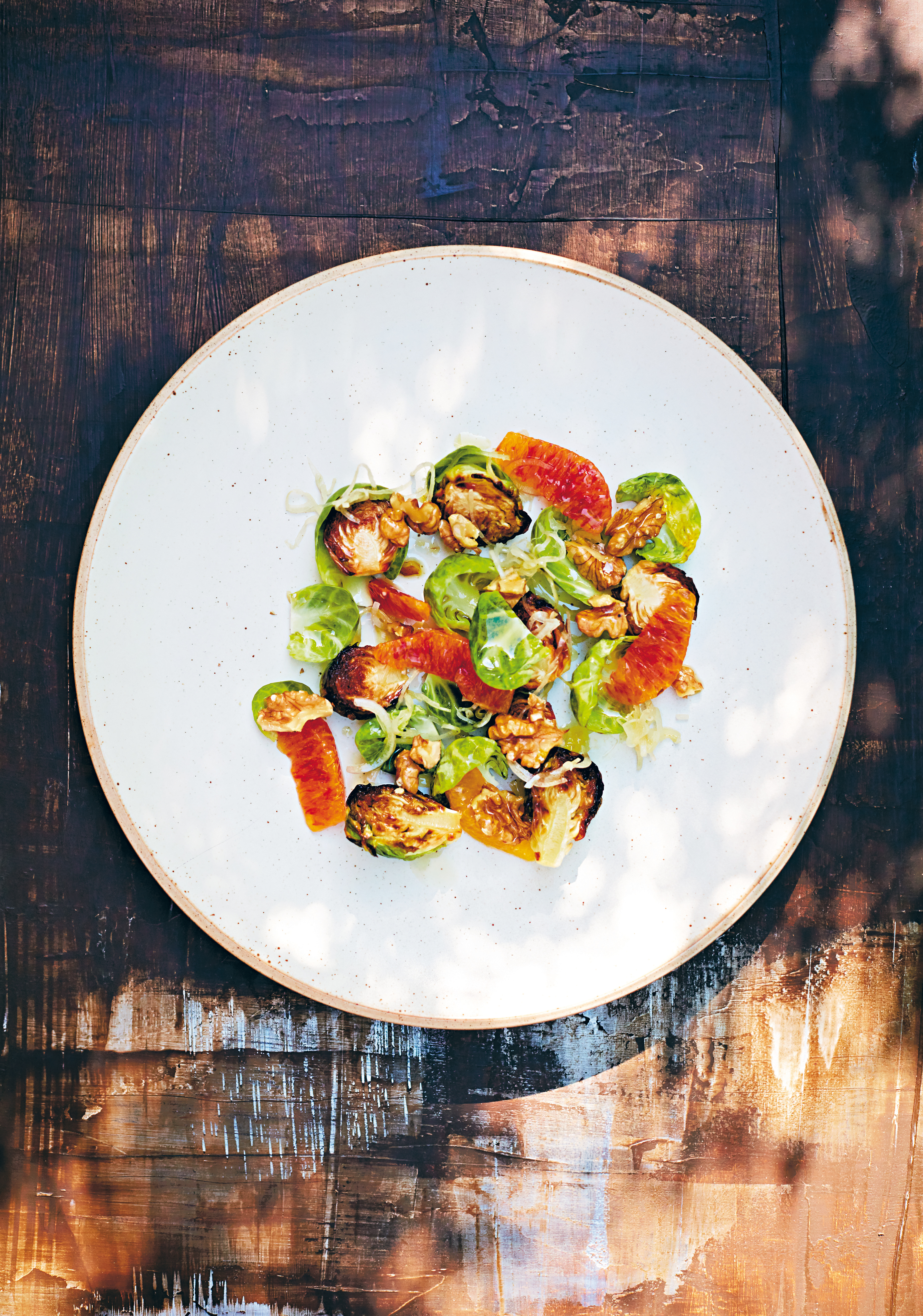 Kliknij: Sałatka z czerwonej pomarańczy i brukselki - przepis z książki Happy Food 2.0