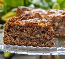 Owocowo-bakaliowe ciasto bez cukru - dobry przepis na bezcukrowy placek