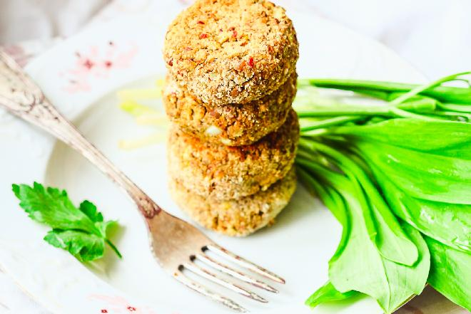 Kotlety z soczewicy - dobre nie tylko dla wegetarian